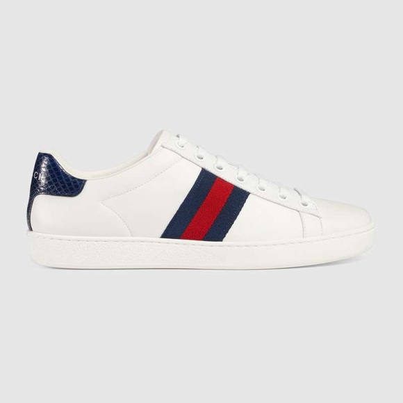 gucci ace sneakers navy Shop Clothing